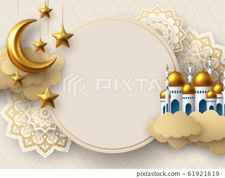 Ramadan Kareem vector illustration. 61921619