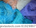 their threads of different colors 61929867