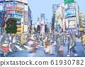 在澀谷的爭奪交叉點 61930782