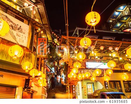 Taiwan Chiufen night view 61935685