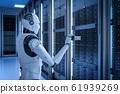 Robot in server room 61939269
