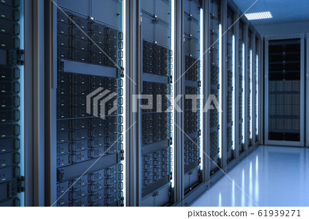 server room or data center 61939271