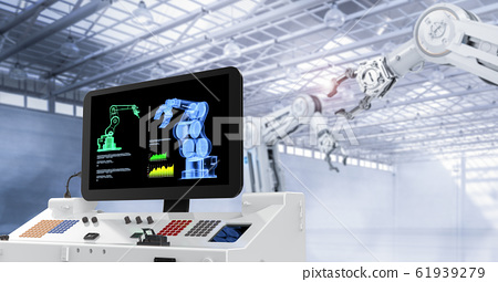 Automation factory concept 61939279