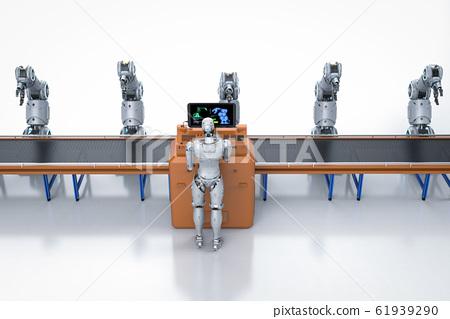 Automation factory concept 61939290