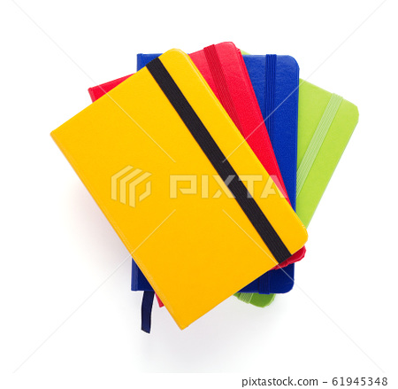 notepad or notebook paper at white background 61945348