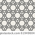 Decorative geometrical seamless pattern. 61949604