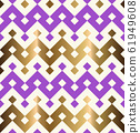 Decorative geometrical seamless pattern. 61949608