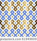 Decorative geometrical seamless pattern. 61949609