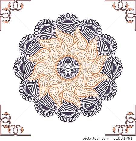 Circular pattern of mandala 61961761