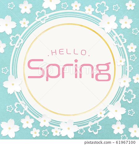 엔 - 원 -Hello Spring- 종이 공예 - 벚꽃 61967100