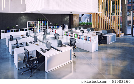 modern office interior, 61982166