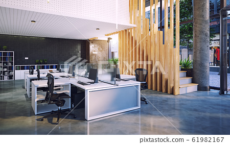 modern office interior, 61982167
