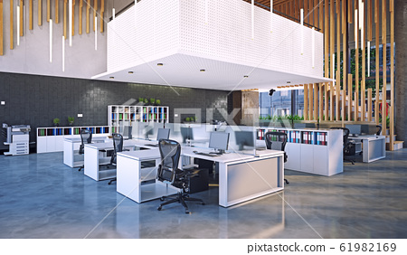 modern office interior, 61982169