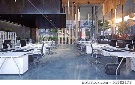 modern office interior, 61982172