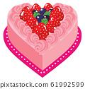 心蛋糕草莓02粉色暗 61992599