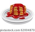 pancakes with jam 62004870