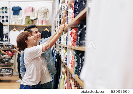 Couple In Clothing Store 62005600