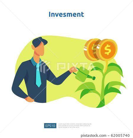 Finance performance of return on investment ROI. 62005740