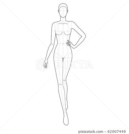 fashion template female