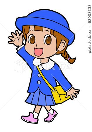 Kindergarten girls 62008838