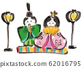 Hina doll, Hina doll, Hina festival, Bonobori, Girls, Hina, Hina, Illustration, Japanese style, White background, Anniversary, Ink, Event 62016795