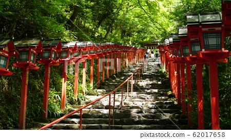 貴船神社的階梯 62017658