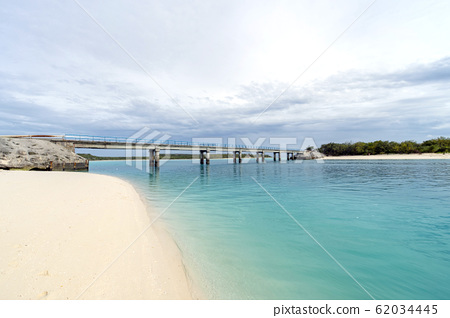 New Caledonia Loyalty Islands Ouvea Island Muri Bridge 62034445