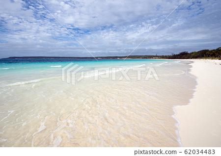 New Caledonia Loyalty Islands Lifou Island Champagne Beach 62034483