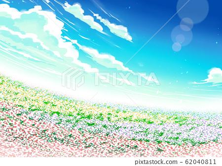 Flower garden 62040811