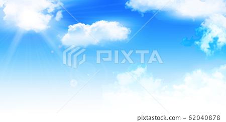 天空雲彩風景背景 62040878