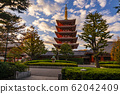 Tokyo - Sensoji-ji, Temple in Asakusa at sunset, Japan 62042409