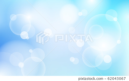 Abstract natural blue sky blurred light bokeh 62043067