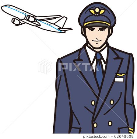 飛機和飛行員 62048609