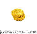 Raw dry instant noodle isolated on white 62054184