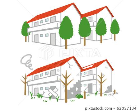 乾淨空置的房子 62057134
