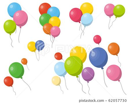 彩色氣球氣球 62057730