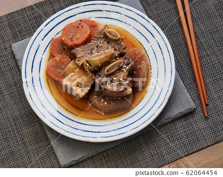 한국의 전통음식 소고기 갈비찜 62064454