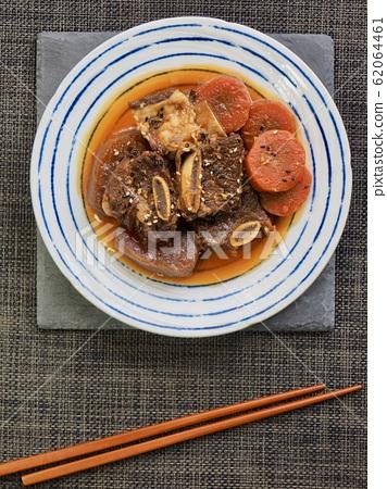 한국의 전통음식 소고기 갈비찜 62064461