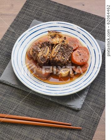 한국의 전통음식 소고기 갈비찜 62064462