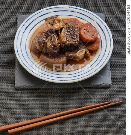 한국의 전통음식 소고기 갈비찜 62064463
