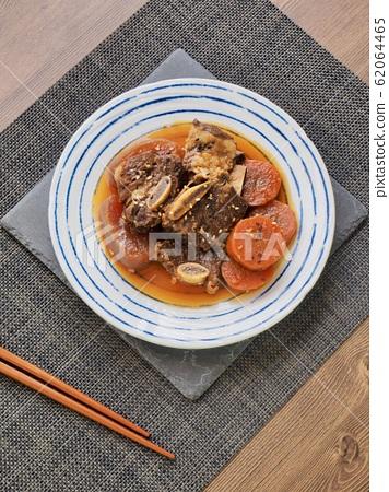 한국의 전통음식 소고기 갈비찜 62064465