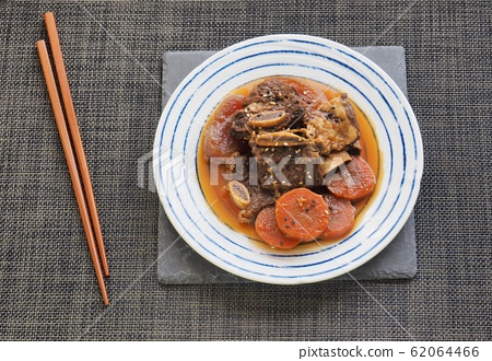 Korean Traditional Food Beef Ribs Steamed 62064466