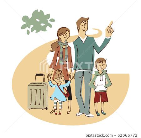 ครอบครัวกำลังเดินทางไป 62066772