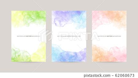 明信片尺寸的水彩畫框 62068673