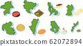 九州地區和特色菜 62072894