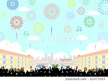 觀眾煙花噴泉廣場 62073003