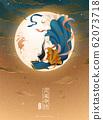 Elegant Chang'e and jade rabbit 62073718