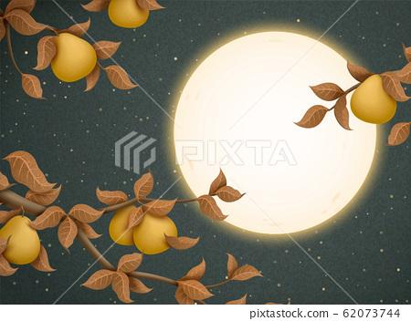 Mid autumn festival illustration 62073744