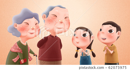 Grandparents and grandchildren 62073975