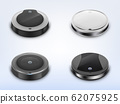 set with round robotic vacuum cleaners 62075925